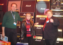 Doug Taylor & Diane Hall & Robby LeBlanc at Namm