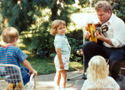 Robby Playing For Kids