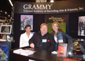 Robby at Grammy Booth