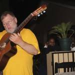 Robby LeBlanc Performing in Moshi Africa