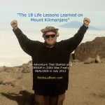 Robby LeBlanc on Top of Mount Kilimanjaro DVD Cover